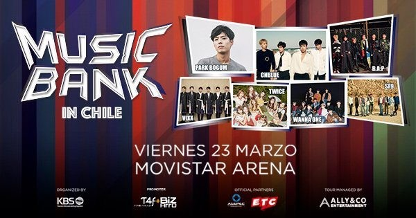 Music Bank in Chile